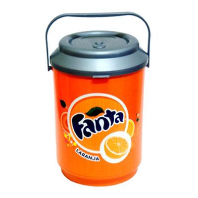 Abrindes - Cooler 10 latas térmico. Produzido em polipropileno