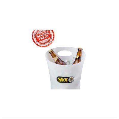 No Ato Brindes - Balde de gelo personalizado para cerveja.