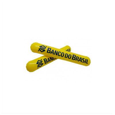 No Ato Brindes - Batecos personalizados. Confeccionado na medida de 50 x 10 cm em PVC. Impressão da logomarca em silk.