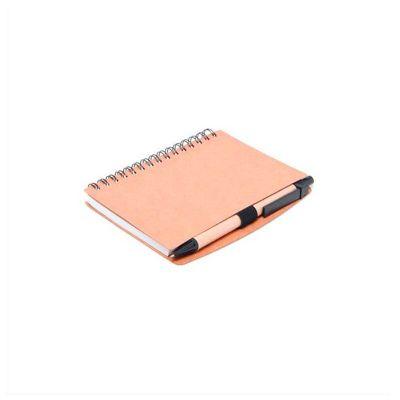 Bloco de anotações personalizado, espiral com 70 folhas.