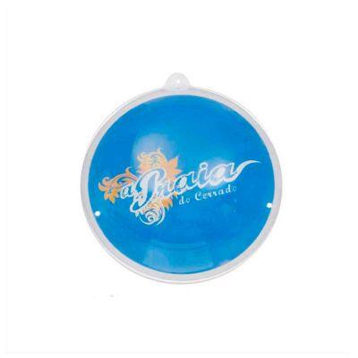 No Ato Brindes - Bola inflável personalizada de PVC cristal e impressão em silk.