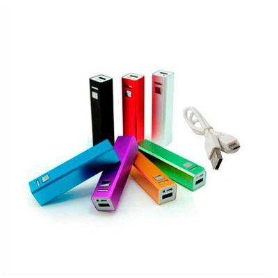 No Ato Brindes - Carregador portátil USB personalizado.