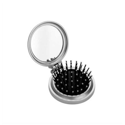 no-ato-brindes - Espelho personalizado com escova.
