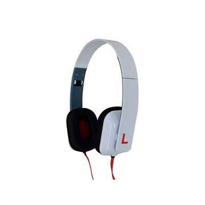 Headphone dobrável promocional, estéreo, com regulagem de altura e som de alta qualidade. É o brinde personalizado ideal para seu evento.