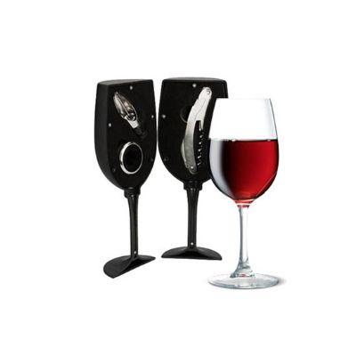 no-ato-brindes - Kit vinho personalizado para presente.