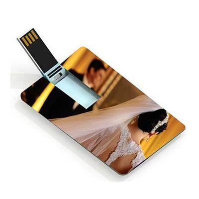No Ato Brindes - Pen drive card personalizado.