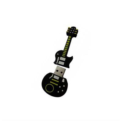 no-ato-brindes - Pen drive personalizado em formato de guitarra.