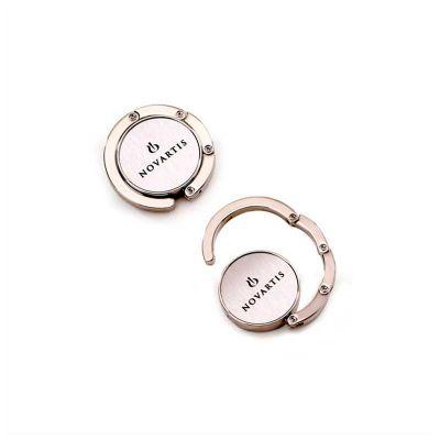 no-ato-brindes - Porta bolsa personalizado em metal, leve e elegante a logomarca é impressa em laser.