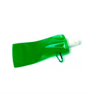 no-ato-brindes - Squeeze dobrável personalizado, em diversas cores e com capacidade para 480ml.