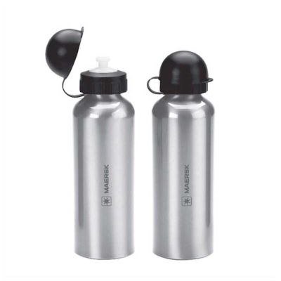 no-ato-brindes - Squeeze de alumínio personalizado. Com capacidade de 500 ml e impressão da marca a laser ou silk.