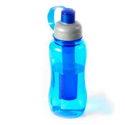 no-ato-brindes - Squeeze Ice Bar com capacidade de 400 ml e filtro interno removível para resfriamento.