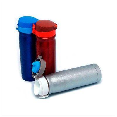 no-ato-brindes - Squeeze térmico personalizado de inox com capacidade para 500ml.