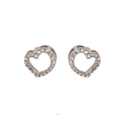 Brincos Swarovski Symbolic Heart