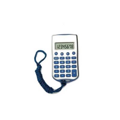 No Ato Brindes - Calculadora 8 Dígitos com Cordão - Brindes