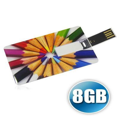 Pencard 8GB Personalizado - No Ato Brindes