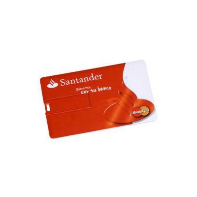 no-ato-brindes - Pen drive Cartão Personalizado 4GB