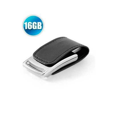 - Pen drive 16 GB em Couro com Imã para Brindes