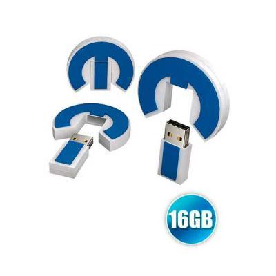 no-ato-brindes - Pen drive emborrachado 16GB