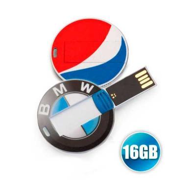No Ato Brindes - Pen drive Cartão Personalizado 16GB - Brindes