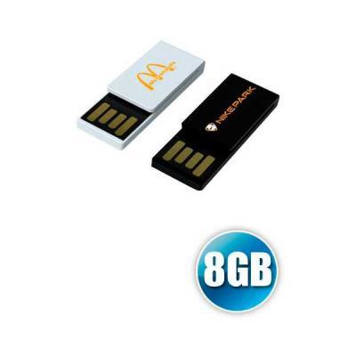 No Ato Brindes - Pen drive 8GB Clipe Personalizado