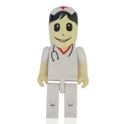 no-ato-brindes - Pen drive 4 GB Promocional Enfermeiro