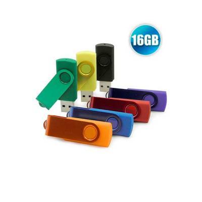 no-ato-brindes - Pendrive 16 GB Personalizado - Brindes