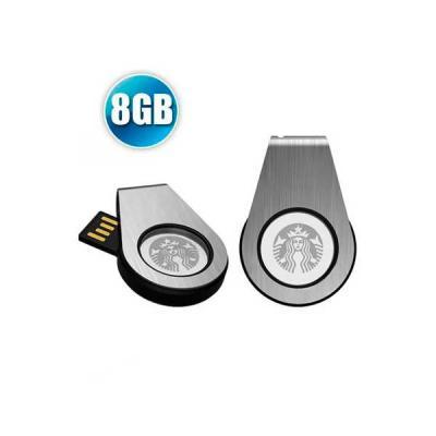 Pen Drive 8GB Personalizado Giratório