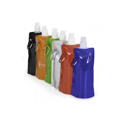 no-ato-brindes - Squeeze Plástico Dobrável