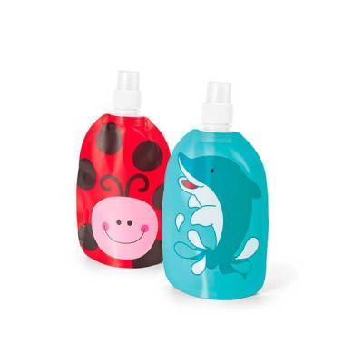 no-ato-brindes - Squeeze de Plástico Dobrável Personalizado