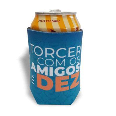 mobile-promo - Porta lata personalizado de neoprene. Personalização com  processo de impressão em Serigrafia ou Sublimação