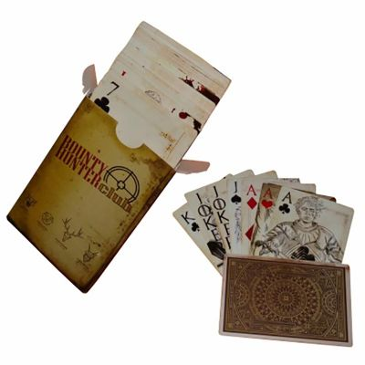 - Baralhos personalizados produzidos em papel cartão Triplex 300 gramas.Processo de Impressão Serigrafia ou Off Set.