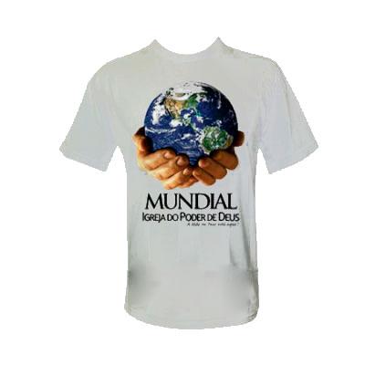 Mobile Promo - Camiseta com gola careca.