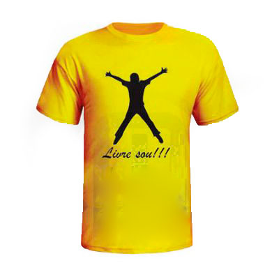Mobile Promo - Camiseta gola careca