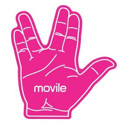 Mobile Promo - Mão para evento personalizada.