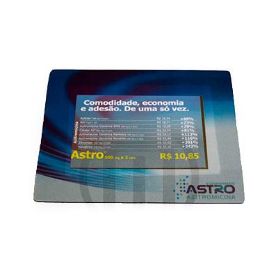 mobile-promo - Mouse pad confeccionado em PVC - Triplex - Vinil.
