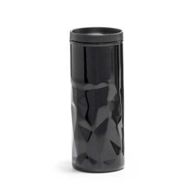 agitalle-brindes-promocionais - Squeeze de parede dupla. Aço inox e PP. Com parede dupla, tampa e antideslizante na base. Capacidade: 520 ml. Food grade. ø72 x 184 mm