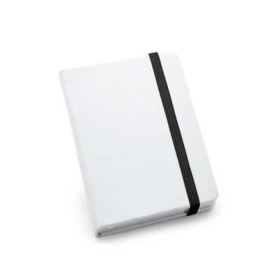 Agitalle Brindes Promocionais - Caderno capa dura. C. sintético. Com 80 folhas não pautadas. 90 x 140 mm