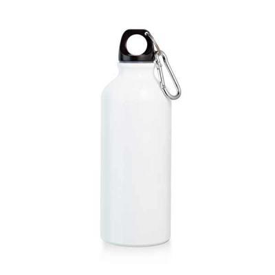 agitalle-brindes-promocionais - Squeeze. Alumínio. Com mosquetão. Capacidade: 500 ml. Food grade. ø66 x 210 mm