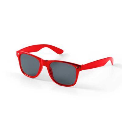Agitalle Brindes Promocionais - Óculos de sol. PC. Proteção de 400 UV. 146 x 49 x 150 mm