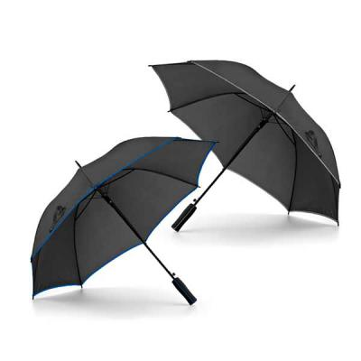 Agitalle Brindes Promocionais - Guarda-chuva. Poliéster 190T. Pega em EVA. Abertura automática. ø1040 mm | 825 mm