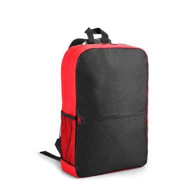 Agitalle Brindes Promocionais - Mochila para notebook. 600D. Compartimento com divisória almofadada para notebook até 15.6''. Bolso lateral em tela e bolso frontal. Parte posterior e...