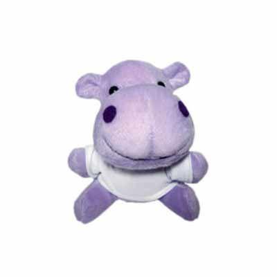 Agitalle Brindes Promocionais - Hipopótamo de Pelúcia