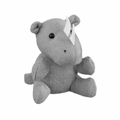 Agitalle Brindes Promocionais - Rinoceronte de Pelúcia