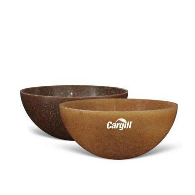 Direct Brindes Personalizados - Mini Bowl Ecológico Redondo.  Produto sustentável, feito através do reaproveitamento de resíduo de casca de coco ou de madeira de reflorestamento. Pod...