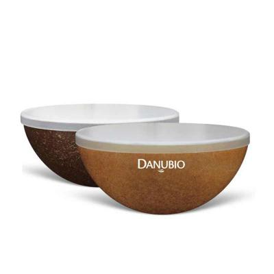 Direct Brindes Personalizados - Mini Bowl GREEN 240ml personalizado, feita em plástico atóxico, resistente à micro-ondas e lava-louças. Produto sustentável, feito através do reaprove...