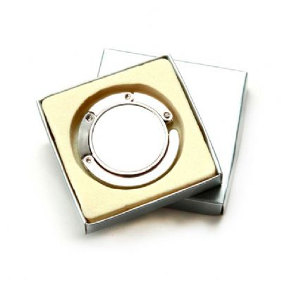 Direct Brindes Personalizados - Porta bolsa metal