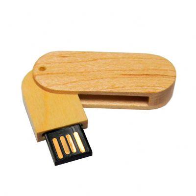 - Pen drive giratório eco personalizado. Opções p/ gravação. Consultar capacidade em GB.
