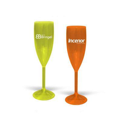 Direct Brindes Personalizados - Taça VIP CRISTAL para Champagne Personalizada, 180ml, alta resistência, reforçada, acabamento impecável e alta transparência. Cores Disponíveis - CRIS...