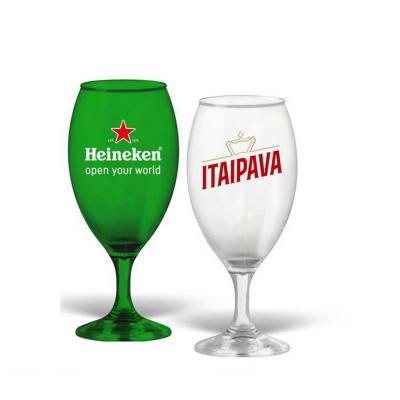 Direct Brindes Personalizados - Taça Tulipa Cristal 400ml personalizada, alta qualidade, matéria prima alto brilho, parede de alta resistência e alta transparência. Cores Disponíveis...