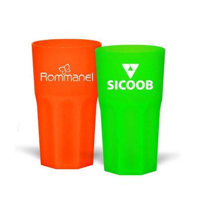 Direct Brindes Personalizados - Copo com capacidade para 380ml Personalizado. Design moderno e acabamento impecável, o Copo Roma é feito em plástico atóxico e altamente resistente. P...